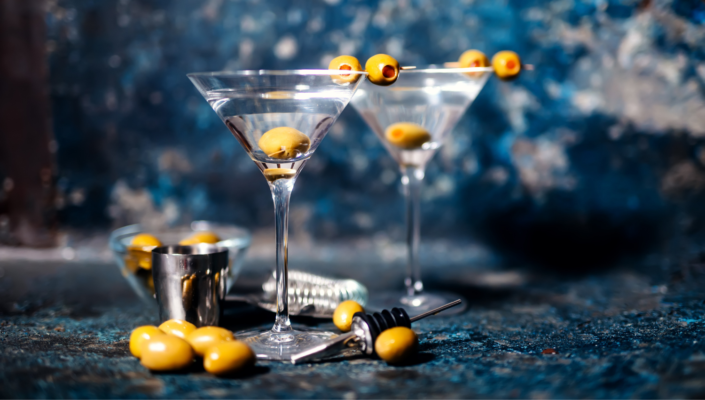 martini dry gin