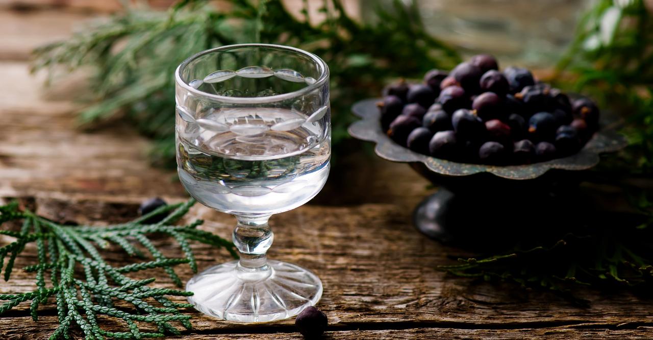 gin pur trinken