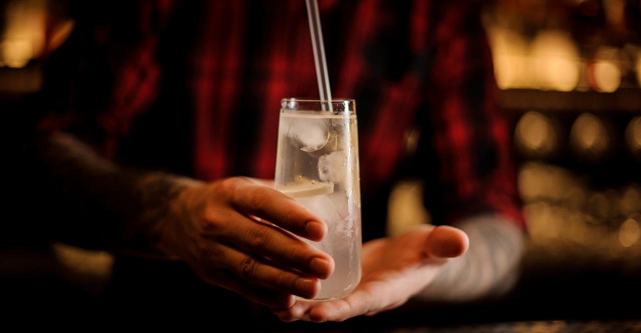 longdrinkglas für gin tonic