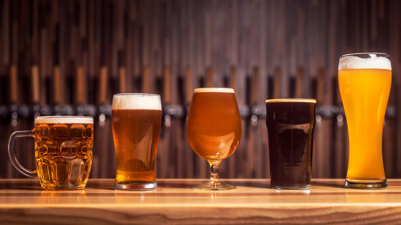 15 verschiedene biersorten